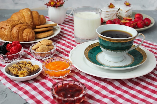 Turkish breakfast Free Photo