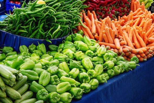 Turkish farmer market Premium Photo