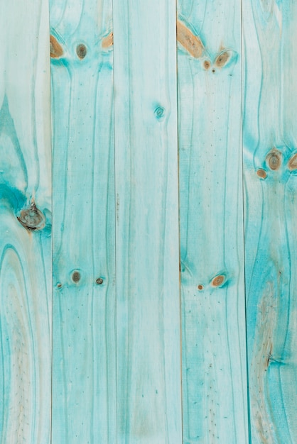 Turquoise wooden textured plank Free Photo