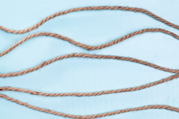 Twine strong beige rope horizontal lines Free Photo