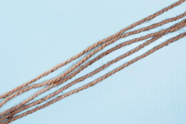 Шпагат прочный бежевой веревки косой линии Бесплатные Фотографии