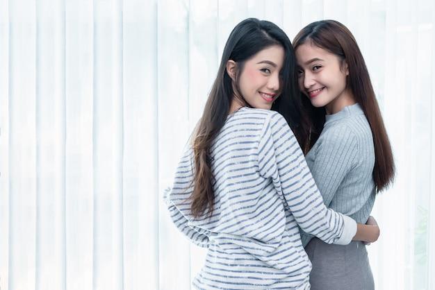 Lesbian asia women