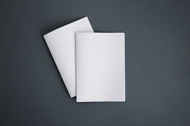 두 권의 소책자 무료 사진