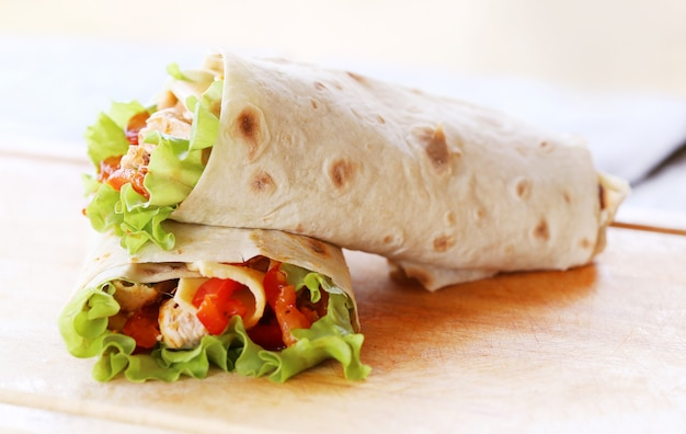 Two tortillas Free Photo