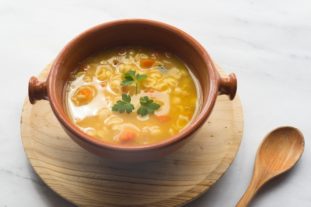 Typical indian soup Premium Photo
