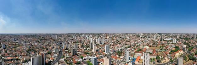 Uberaba, state of minas gerais, brazil - aerial view of the city Premium Photo