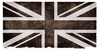 Uk Grunge Flag Black And White Free Photo