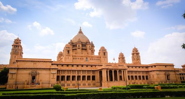 Umaid bhawan palace-jodhpur Premium Photo