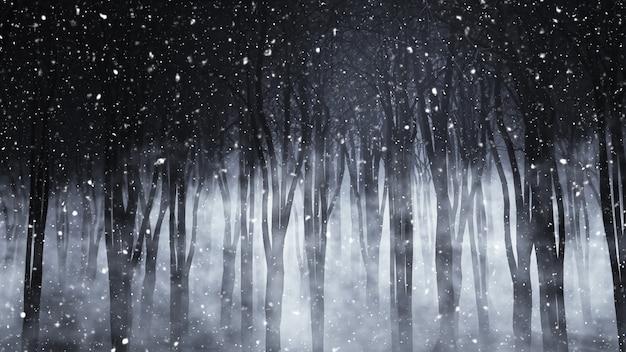 Un bosque terrorífico Free Photo
