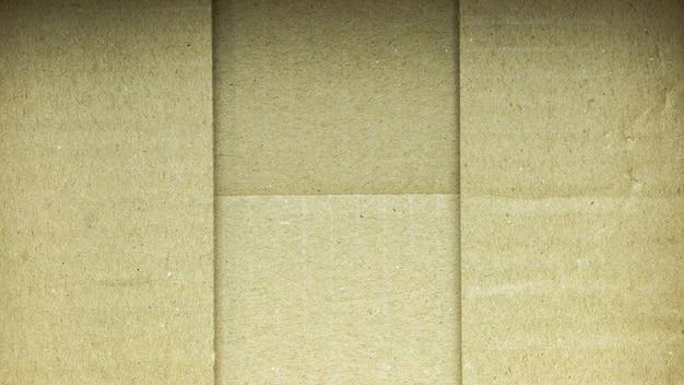 Underside of a brown paper box Premium Photo