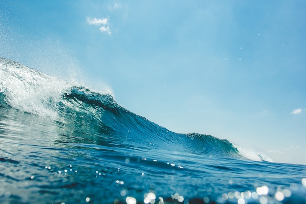 Underwater wave Free Photo