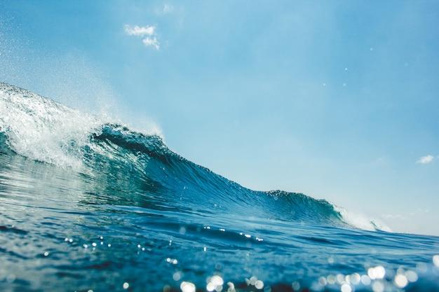 水中波 無料写真