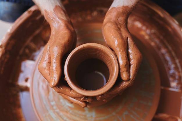 Unfinished jug Free Photo