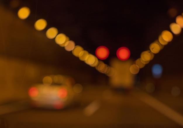 Unfocused background. road concept Premium Photo