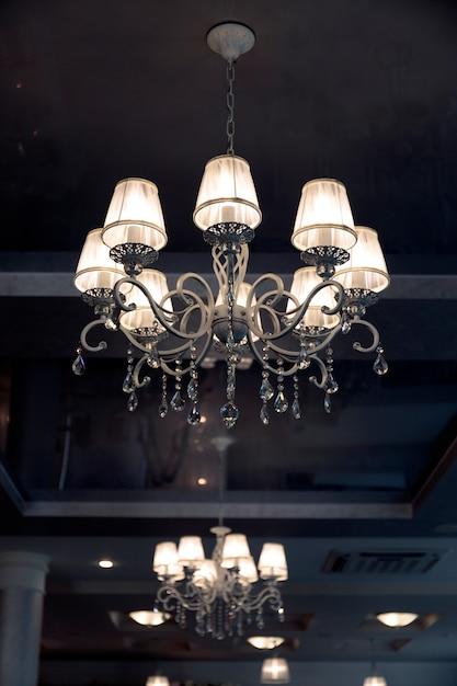 Unique classical empire chandelier Premium Photo