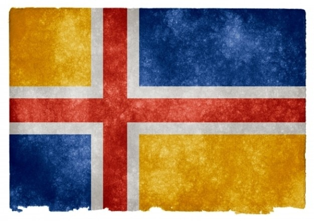 United scandinavia grunge flag Free Photo