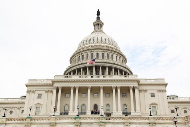 United states capitol building in washington dc, usa. Premium Photo