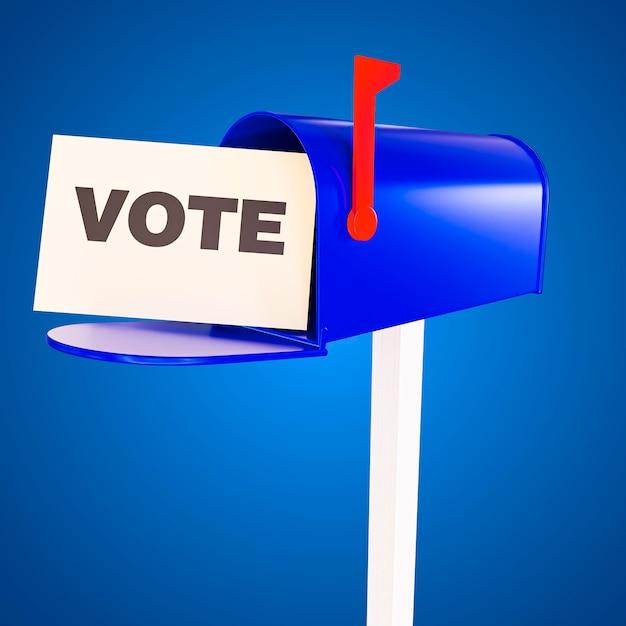 アメリカ合衆国の選挙投票の概念 無料写真