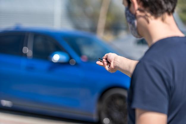 Unlocking a car by remote control wordpress car rental plugin coronavirus solution