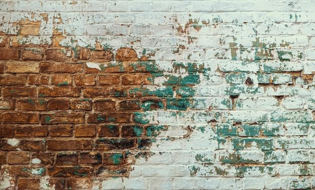Urban background, grunge brick wall texture Premium Photo
