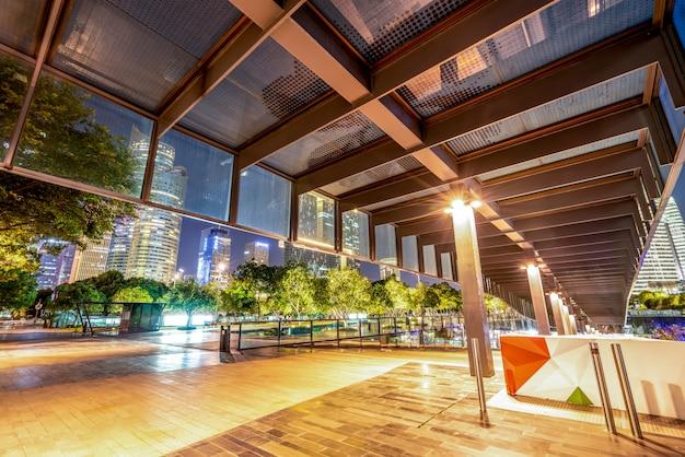 Urban nightscape modern architecture Premium Photo