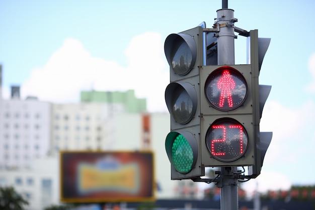 都市信号 Premium写真