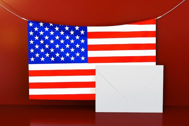 Концепция выборов сша с копией пространства Бесплатные Фотографии