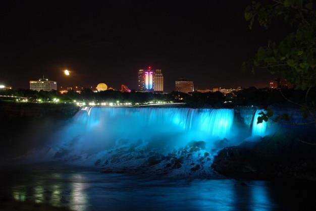 ナイアガラ川の水usaフォールズバッファロー性質 無料写真