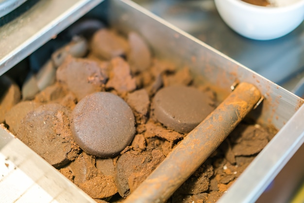 Used Coffee Grounds From Espresso Machine Free Photo
