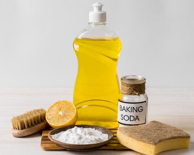 Использование пищевой соды для органических чистящих средств Бесплатные Фотографии