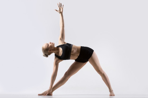 Image result for 6. Utthita Trikonasana