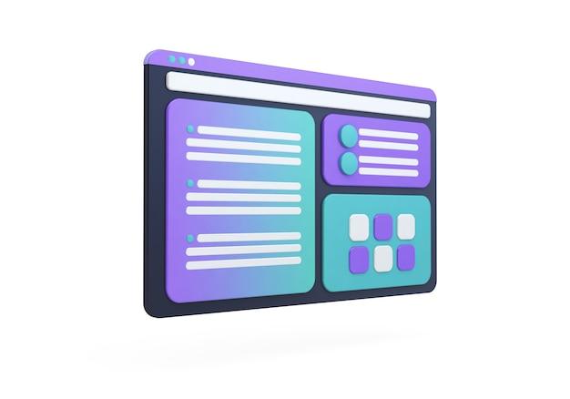 Ux design concept Premium Photo