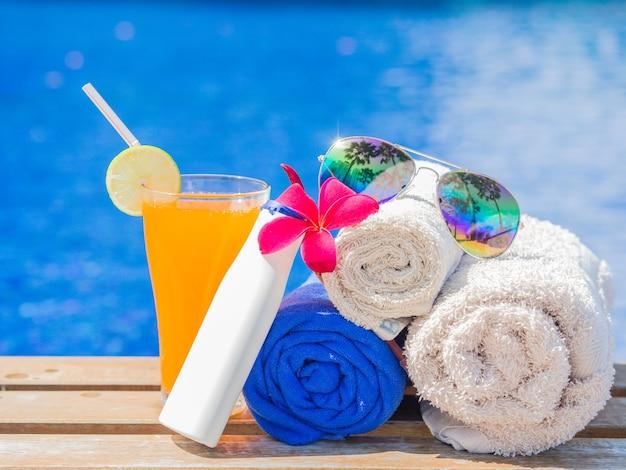 Vacation, beach, summer travel concept Premium Photo