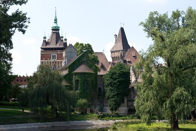 The vajdahunjad castle in budapest Premium Photo