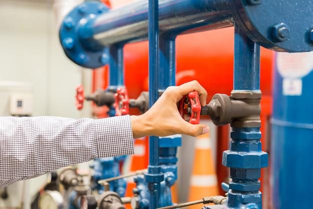 Valves water pump Premium Photo