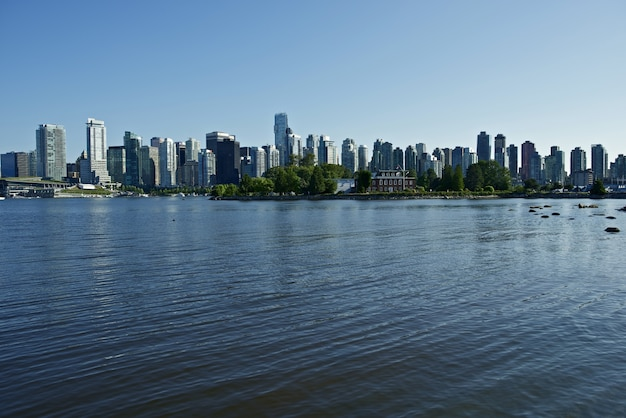 Vancouver, bc skyline Free Photo
