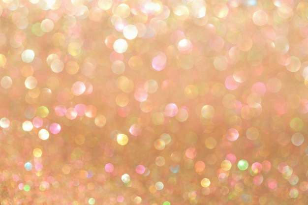 Vanilla bokeh background, abstract with defocused lights. Premium Photo