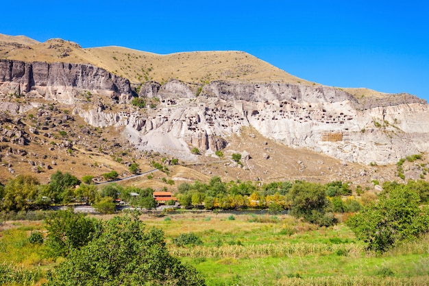 Vardzia cave monastery Premium Photo