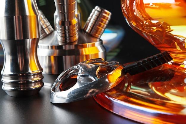 Various accessories for making hookah Premium Photo