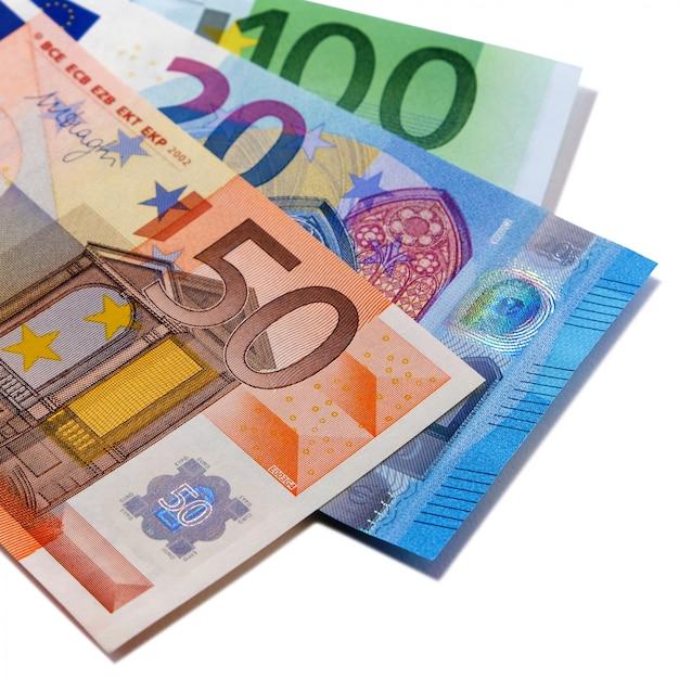 各種ユーロ紙幣 無料写真