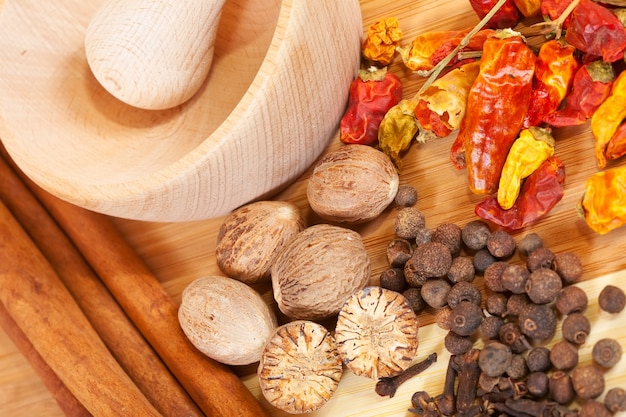 Various natural spiciness Free Photo