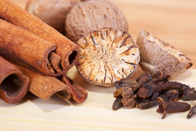 Various spices Free Photo