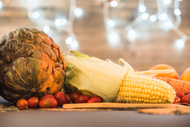 Various vegetables on table Free Photo