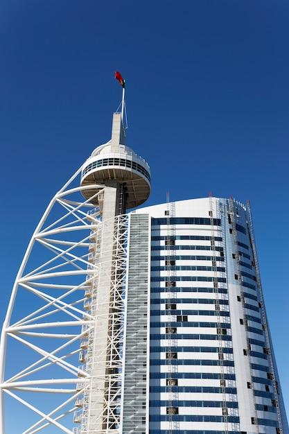 La torre vasco da gama, lisbona, portogallo Foto Gratuite