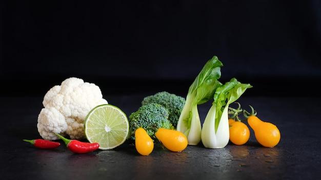 Vegan and vegetarian diet healthy food Premium Photo