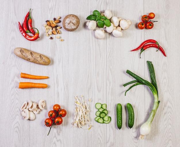 Veggie salud yummy foodie food Premium Фотографии
