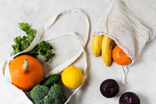Овощи в биопакетах для здоровья и расслабления Бесплатные Фотографии
