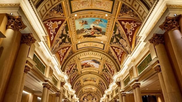 Hotel veneziano dall'interno, las vegas, usa Foto Gratuite
