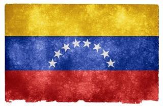 Венесуэла гранж флаг полосы Бесплатные Фотографии