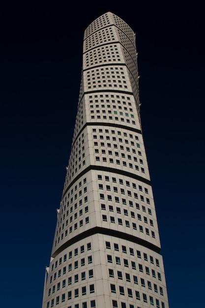 Colpo verticale del grattacielo ankarparken Foto Gratuite